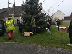 Zdobení vánočního stromu 2020